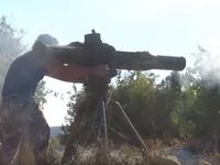 自由シリア軍救助捜索ヘリをTOWで破壊 2015/11/26 01:36:42