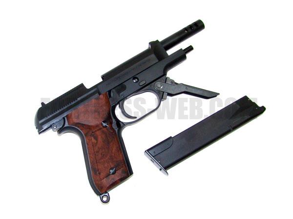 KSC (ケーエスシー): M93R II 1st BK HW 07ハードキック