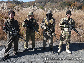 サバイバルゲーム チーム