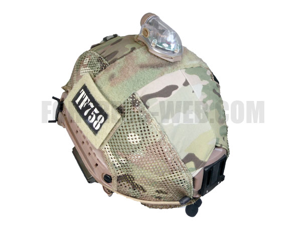 FIRST SPEAR: OPS-COREヘルメット対応 Helmet Cover Hybrid MC L/XL
