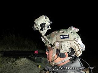 OPS-CORE FAST Base Jump Military Helmet Norotos PVS-14