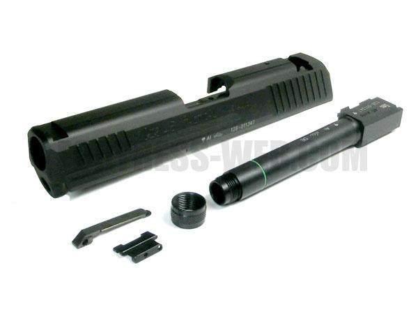 DETONATOR: KSC HK45タクティカル カスタムスライド ブラック(SL-KSC008-BK)