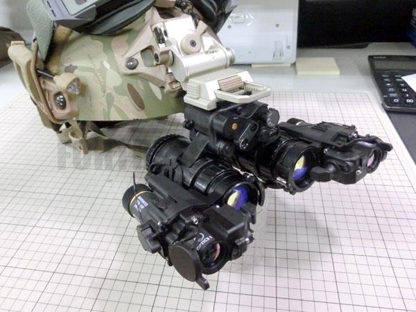 AN/PVS-15+AN/PAS-29×2+OPS-CORE