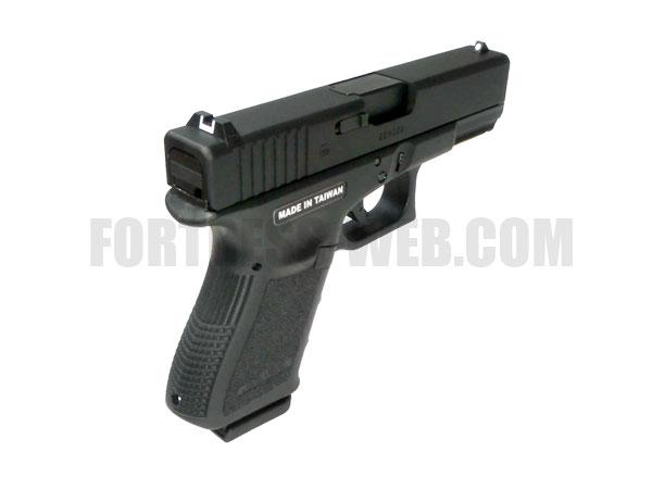 STARK-ARMS: ガスハンドガン G19 GBB(SA3-S19J-BK01)