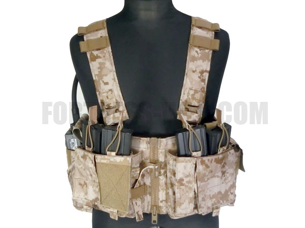 Mayflower Research: UW GenV Split Front Chest Rig DD