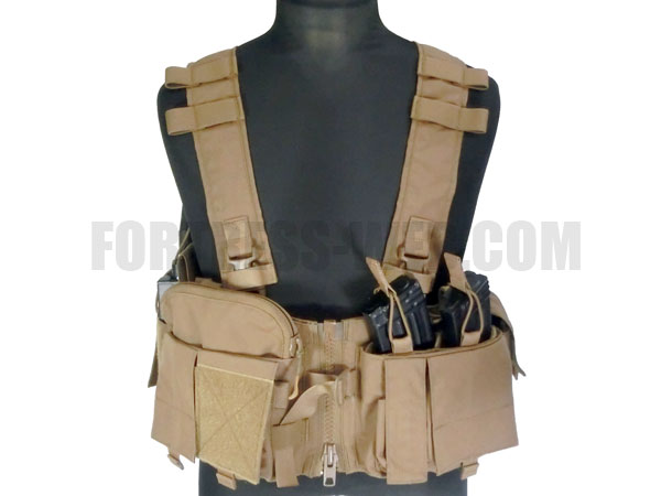 Mayflower Research: UW GenV Split Front Chest Rig CB