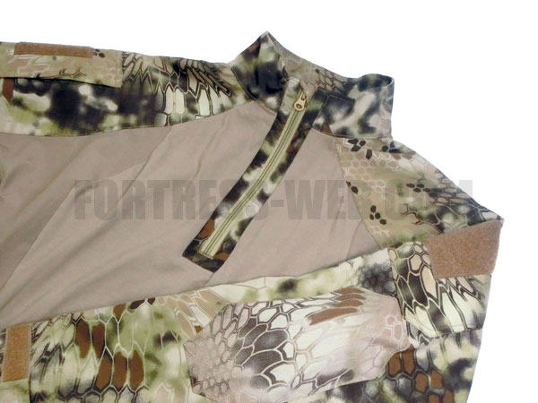 UR-TACTICAL:GEN 2 IMPROVED DIRECT ACTION SHIRT KRYPTEK HIGHLANDER