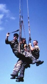 特殊部隊におけるMcGuire rigの使用について