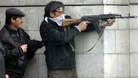 キルギス軍野戦服