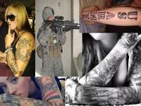 陸軍女性TATOO