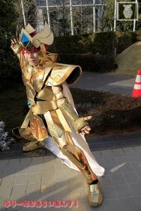 黄金のアーマー