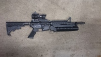 WE M4A1 GBB 塗装計画①