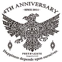 本日、明日はお休みです ×  4周年記念デザイン × GAZE様デザイン