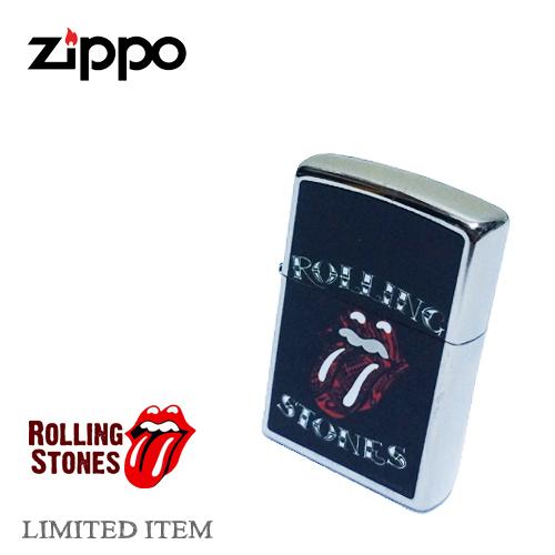ジッポー【ZIPPO】THE ROLLING STONES【ローリングストーンズ】LIMITED LIGHTER REGULAR SILVER(限定生産コラボ/レギュラーサイズ/ツヤ無 )ポルタアンドゲートPORTAANDGATE