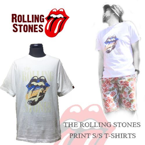 ポルタアンドゲートPORTAANDGATE THE ROLLING STONES【ローリングストーンズ】JAPAN ORIGINAL PRINT S/S T-SHIRTS (日本オリジナルロゴプリント半袖Tシャツ)