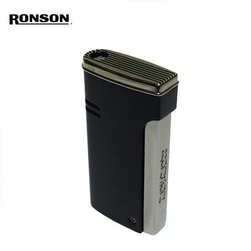 ポルタアンドゲートPORTAANDGATEロンソン【RONSON】RONSON R29 RONJET LIGHTER/ GASLIGHTER BLACK/SILVER(ロンソン ロンジェット/ガスライター/ターボライター黒マッド)