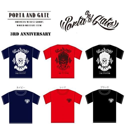 ポルタアンドゲート【PORTA AND GATE】3RD ANNIVERSARY T-SHIRTS(3周年記念Tシャツ)2017年、05