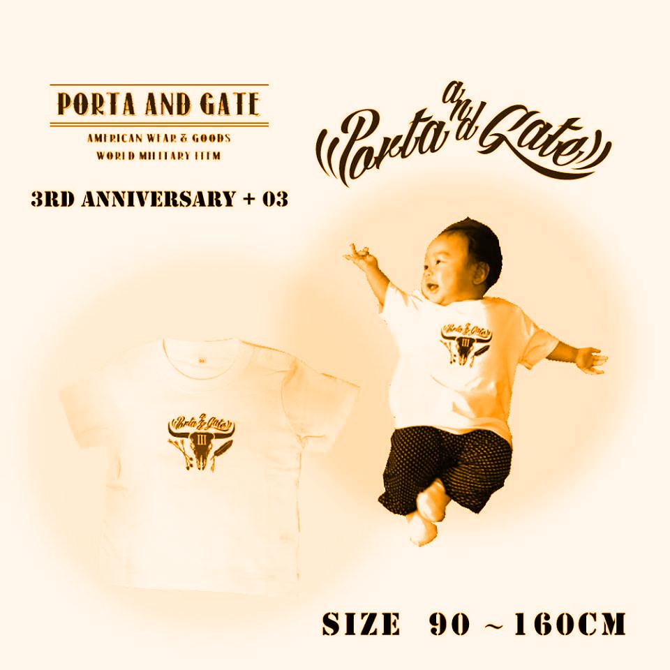 ポルタアンドゲートPORTAANDGATE,周年Tシャツ予約 ,メンズ、レディース、キッズ、ユース全サイズ可能04