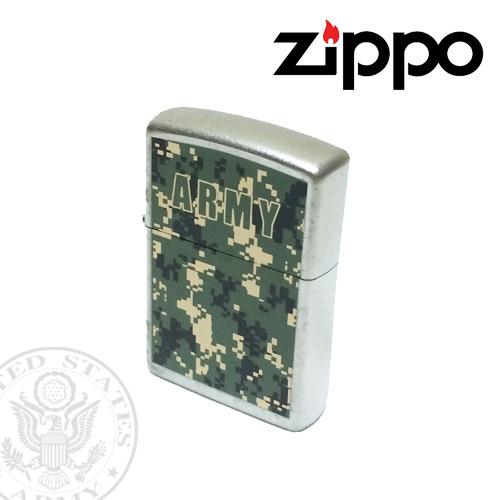 ジッポー【ZIPPO】IMPORT US ARMY<br />  WOODLAND MARPAT(PIXEL WOOD)<br />  CAMO (アメリカ陸軍マーパット柄<br /> 迷彩/ピクセル)ポルタアンドゲートPORTAANDGATE