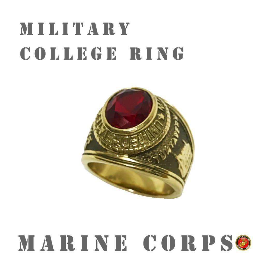 ポルタアンドゲートporta.and.gateUS MARINE CORPS/NAVY MILITARY RING/COLLEGE RING (アメリカ海兵隊&海軍ミリタリーリング/カレッジリング)01