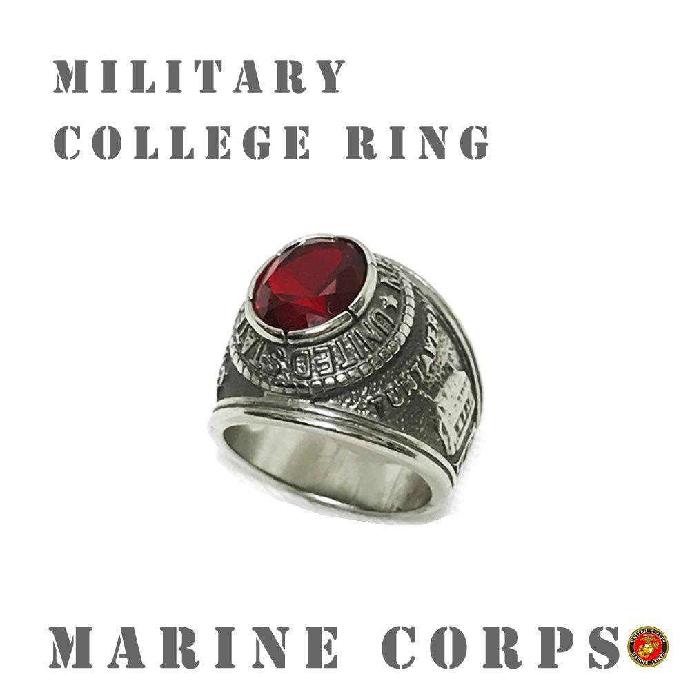 ポルタアンドゲートporta.and.gateUS MARINE CORPS/NAVY MILITARY RING/COLLEGE RING (アメリカ海兵隊&海軍ミリタリーリング/カレッジリング)02