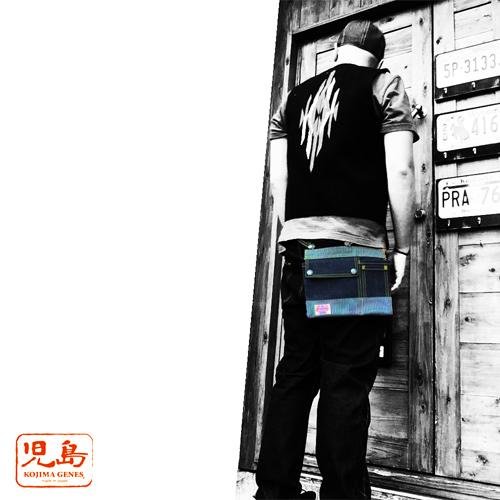 ポルタアンドゲートPORTAANDGATE児島ジーンズ【KOJIMA GENES】ENGINEERBAG/HIPBAG/iQOSCASE/2017CAMO(エンジニアバッグ/ヒップバッグ/アイコス/迷彩/カモ)児島ジーンズ/岡山04