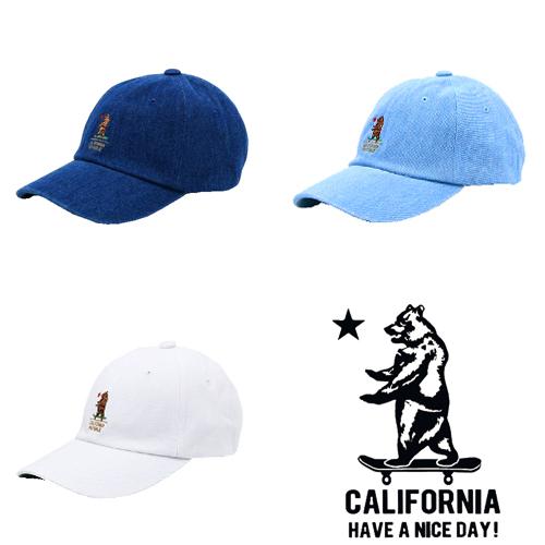 ポルタアンドゲートPORTAANDGATEシーエイチベアー【C.H.BEAR】CALIFORNIA HAVE A NICE TIME OLD STYLE CAP/JET CAP(オールドスタイル ベースボールキャップ/ジェットキャップ)3
