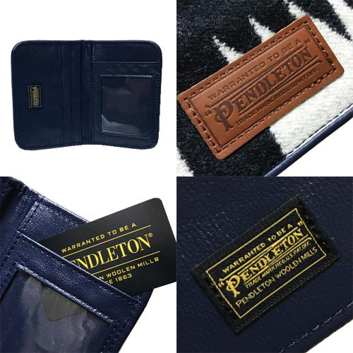 ポルタアンドゲートPORTAANDGATEペンドルトン【PENDLETON】PDW CARD CASE/PASS CASE/BUSINESS CARD HOLDER/カードケース/パスケース/名刺入れ/ネイティブ柄02