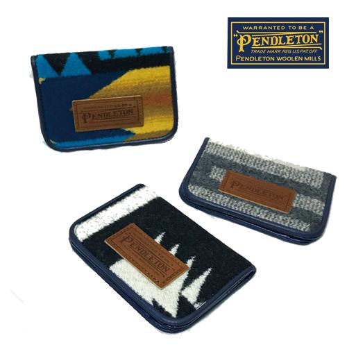 ポルタアンドゲートPORTAANDGATEペンドルトン【PENDLETON】PDW CARD CASE/PASS CASE/BUSINESS CARD HOLDER/カードケース/パスケース/名刺入れ/ネイティブ柄01
