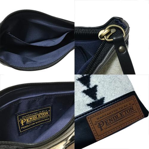 ポルタアンドゲートPORTAANDGATEペンドルトン【PENDLETON】PD FABRIC POUCH/CARD CASE/BAG IN POUCH/バッグインポーチ/ポーチ/オルテガ柄/ネイティブ柄02