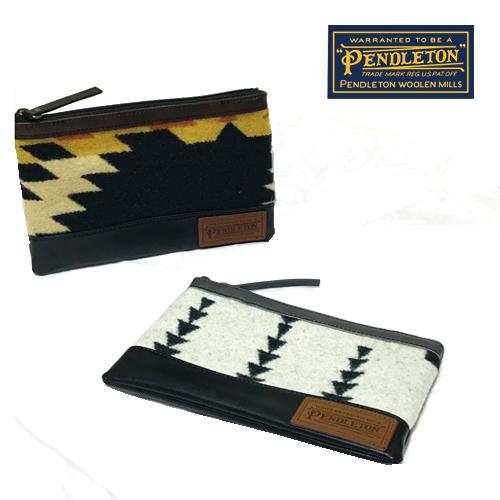 ポルタアンドゲートPORTAANDGATEペンドルトン【PENDLETON】PD FABRIC POUCH/CARD CASE/BAG IN POUCH/バッグインポーチ/ポーチ/オルテガ柄/ネイティブ柄01