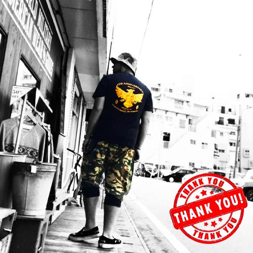 ポルタアンドゲート【PORTA AND GATE】3RD ANNIVERSARY T-SHIRTS(4周年記念Tシャツ)2018年、お祝い、周年祝い、コカコーラグラス、プレゼント、通販可能、全国発送09