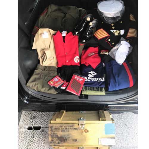ポルタアンドゲート、アメカジ、ミリカジ、米軍放出品、アメリカ海兵隊、ドレスシャツ、ドレスジャケット、ドレスシューズ