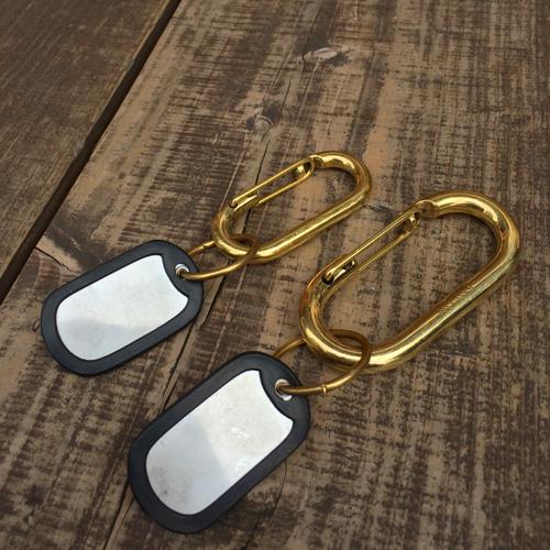 ポルタアンドゲートPORTAANDGATE真鍮カラビナ、フック、キーホルダー、キーリング2