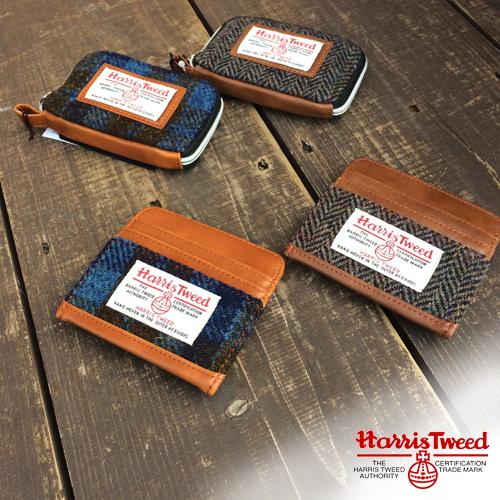 HARRISTWEED<br /> 牛革仕様カードケース/コインケースポルタアンドゲートPORTAANDGATE