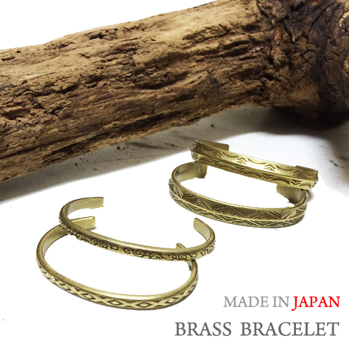 JAPAN MADE BRASS BRECELETポルタアンドゲートPORTAANDGATE