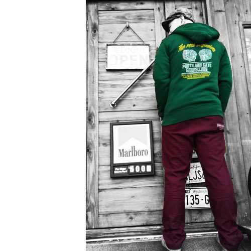 THE EiTS CLOTHING STOREポルタアンドゲート【PORTA AND GATE 】×【GOODFELLOWS DESIGNWORKS】INDIAN COLLABORATE PARKA(コラボパーカー)01