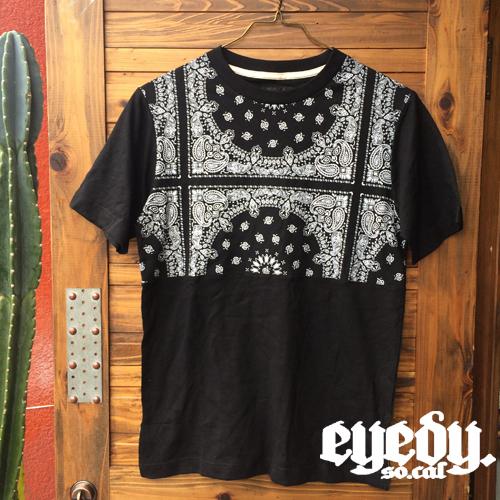 EYEDYアイディーT-SHIRTSTシャツ半袖新作ペイズリー柄アメカジ