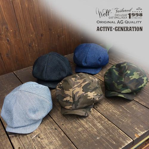 ACTIVE RUBEN HAT CAP 帽子ハットキャップハンチングキャスケットポルタアンドゲートPORTAANDGATE