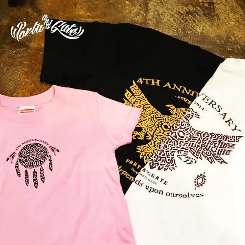 ポルタアンドゲート【PORTA AND GATE】3RD ANNIVERSARY T-SHIRTS(4周年記念Tシャツ)2018年、お祝い、周年祝い、コカコーラグラス、プレゼント、通販可能、全国発送11