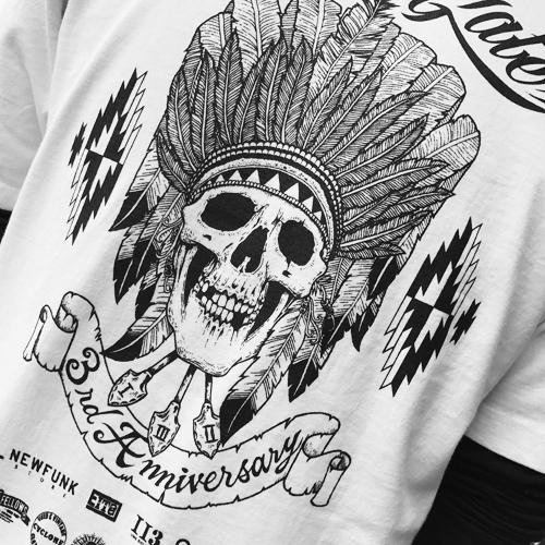 ポルタアンドゲート【PORTA AND GATE】3RD ANNIVERSARY T-SHIRTS(3周年記念Tシャツ)2017年、11