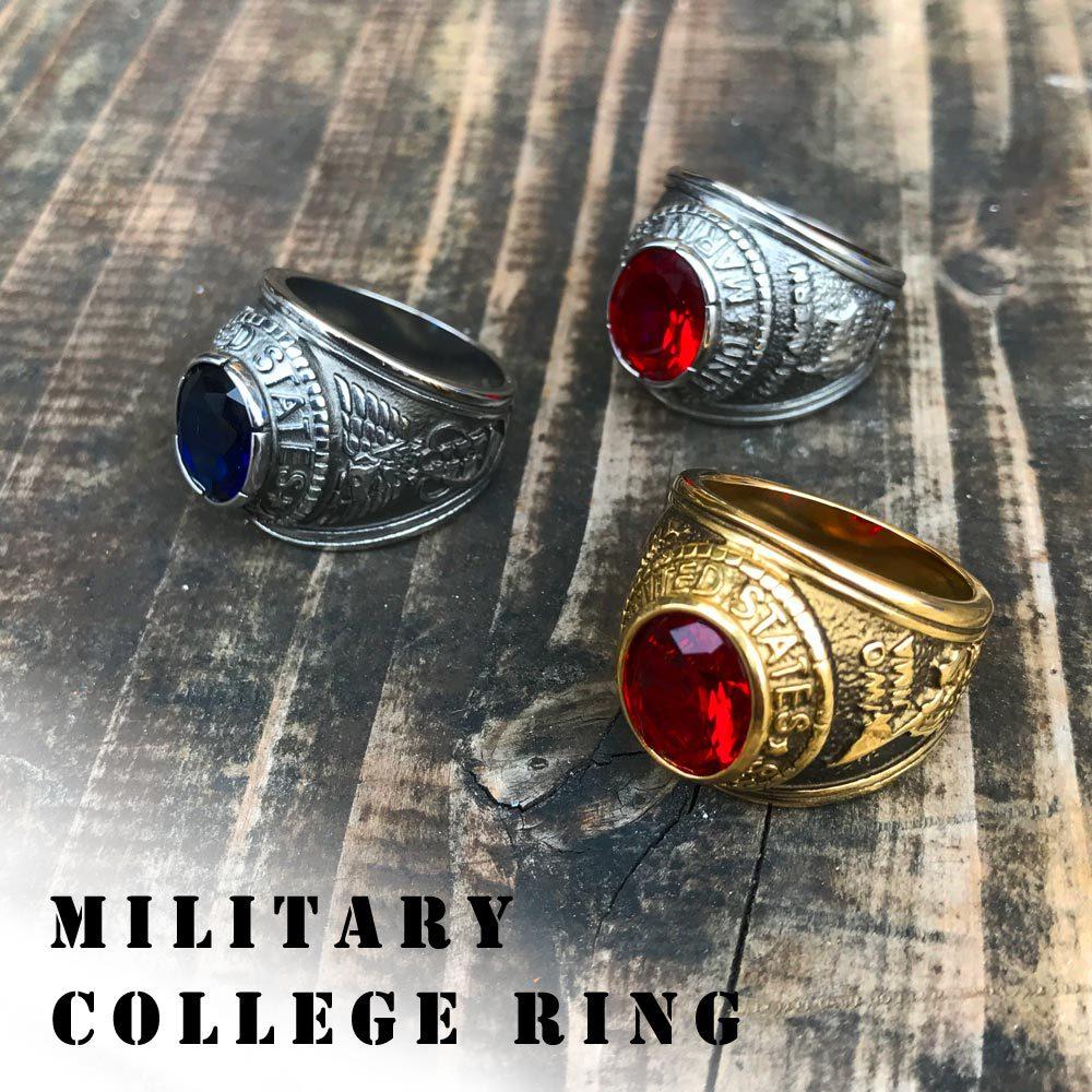 ポルタアンドゲートporta.and.gateUS MARINE CORPS/NAVY MILITARY RING/COLLEGE RING (アメリカ海兵隊&海軍ミリタリーリング/カレッジリング)04