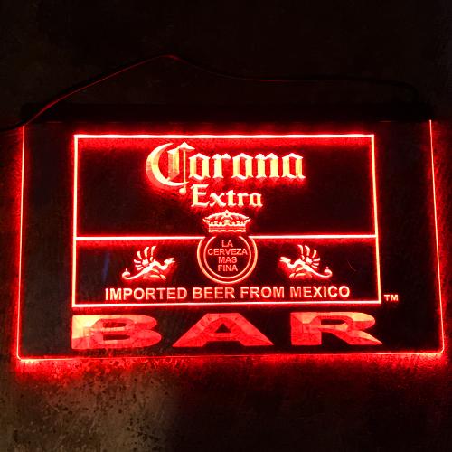 ポルタアンドゲートPORTAANDGATECORONA LEDサイン、看板、インテリア、エクステリア、サインプレート、コロナCORONA、ビール、BEER03