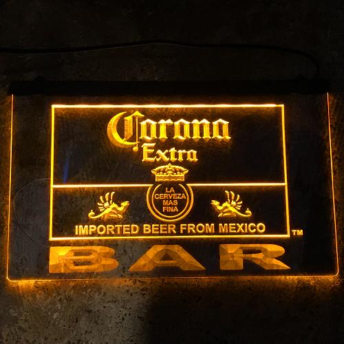 ポルタアンドゲートPORTAANDGATECORONA LEDサイン、看板、インテリア、エクステリア、サインプレート、コロナCORONA、ビール、BEER04