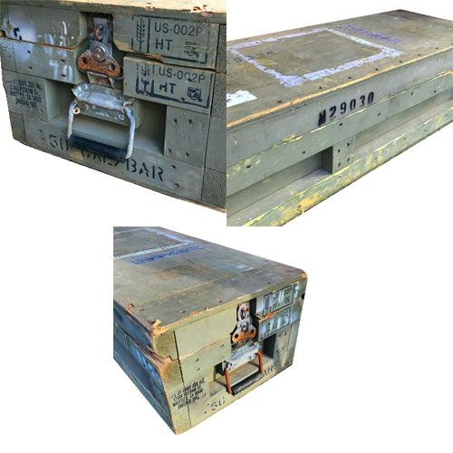 ポルタアンドゲートPORTAANDGATEUS M16 RIFLE WOOD BOX MFG BY ARBO BOX(アメリカ軍木製キャンリグボックス)【米軍放出品】全国送料無料、アメカジ、ミリカジ、ミリタリー、アメリカ軍、米軍放出品、サープラス、米軍払い下げ03