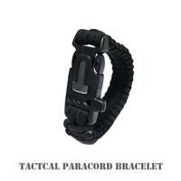 米軍放出品 × タクティカルパラコードブレスレット × アウトドア、サバゲーに是非
