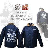 ポパイ/POPEYE × ヒューストン/HOUSTON45周年 × 限定コラボジャケット到着