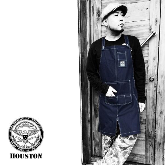 ポルタアンドゲートPORTAANDGATEヒューストン【HOUSTON】ORIGINAL WORK APRON(オリジナルワークエプロン/前掛け)送料無料3