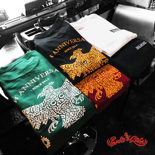 ポルタアンドゲート【PORTA AND GATE】3RD ANNIVERSARY T-SHIRTS(4周年記念Tシャツ)2018年、お祝い、周年祝い、コカコーラグラス、プレゼント、通販可能、全国発送、感謝、ありがとう、恩返し01