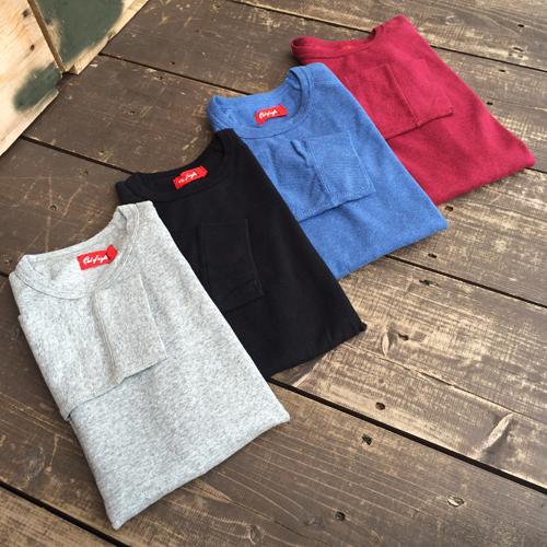 レイトストリック【LATESTLICK】パブリックホリデー【PUBLIC.HLD】SPAN FRAISE 3/4 SLEEVE T-SHIRTS (スパンフライス生地7分袖Tシャツ)